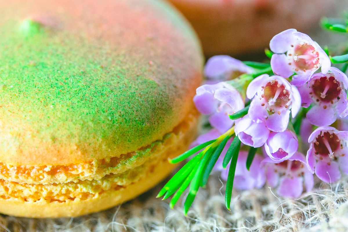 This was one of the prettiest macarons