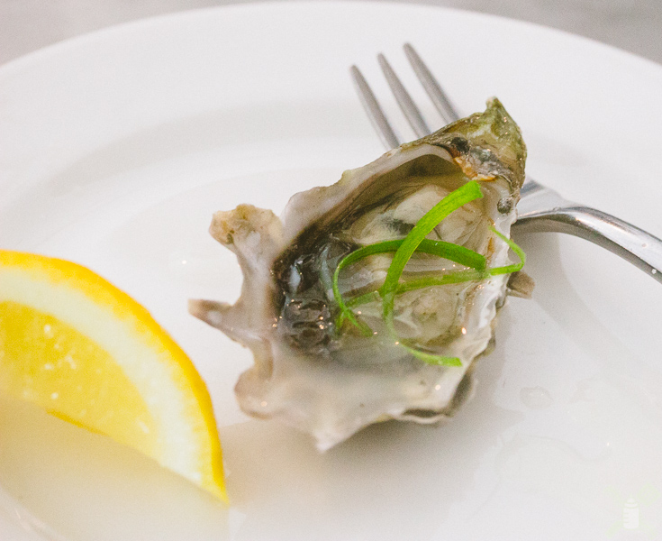 Amazing oysters- you should get them when you're here.