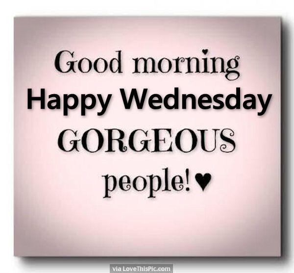 Happy Wednesday!!