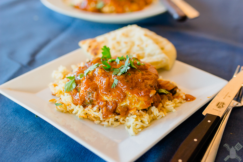 Chicken Curry with Ginger and Yogurt by Andie Mitchell