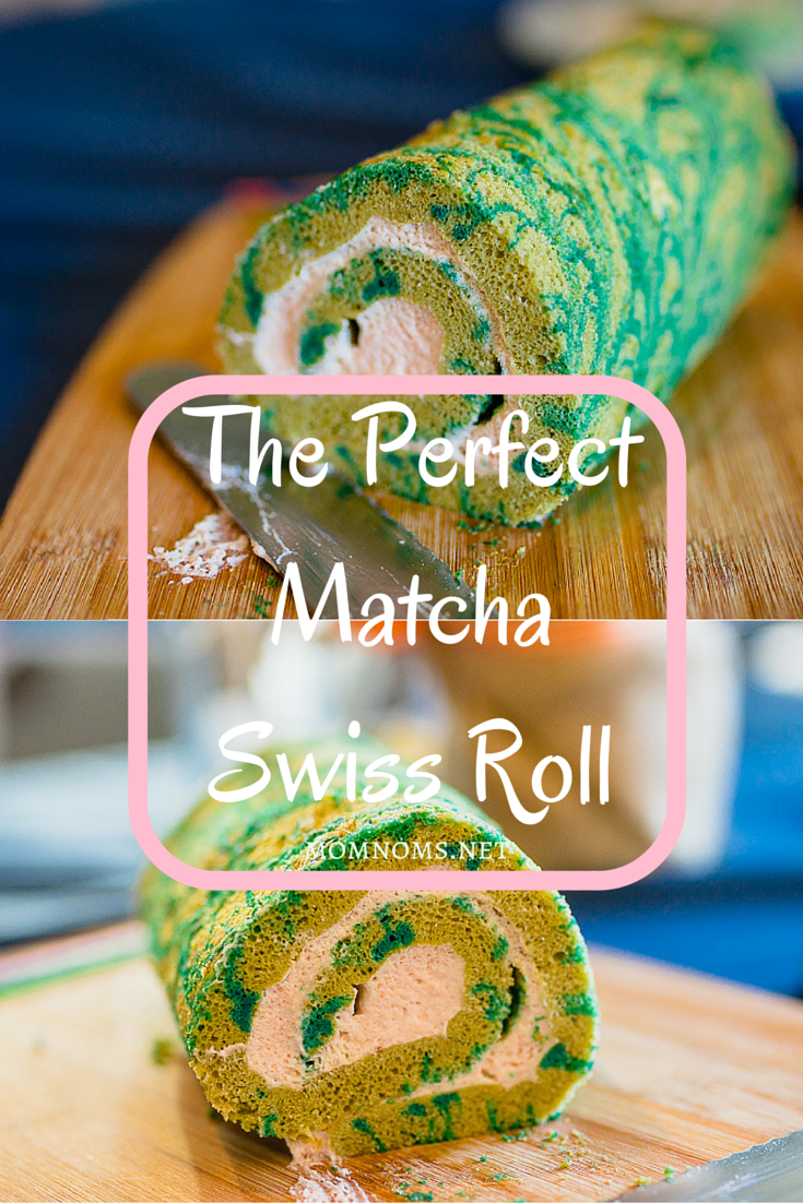 A long time planning and coming up with the perfect recipe for a matcha swiss roll and I finally found it.  The bitterness of the matcha with the sweet strawberry mousse makes this the perfect dessert.