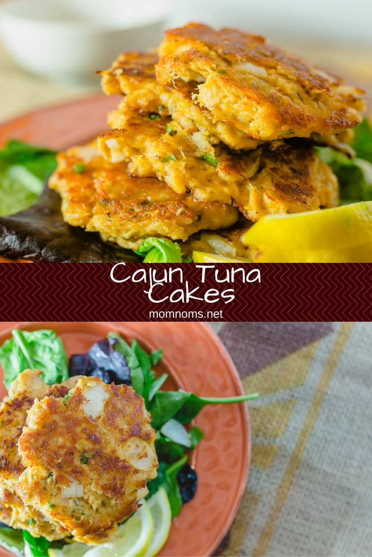 Cajun tuna cakes are perfect for a weeknight meal  They are easy to make and even easier to eat  They have a slight kick that puts them over other tuna cakes  Your family will love them