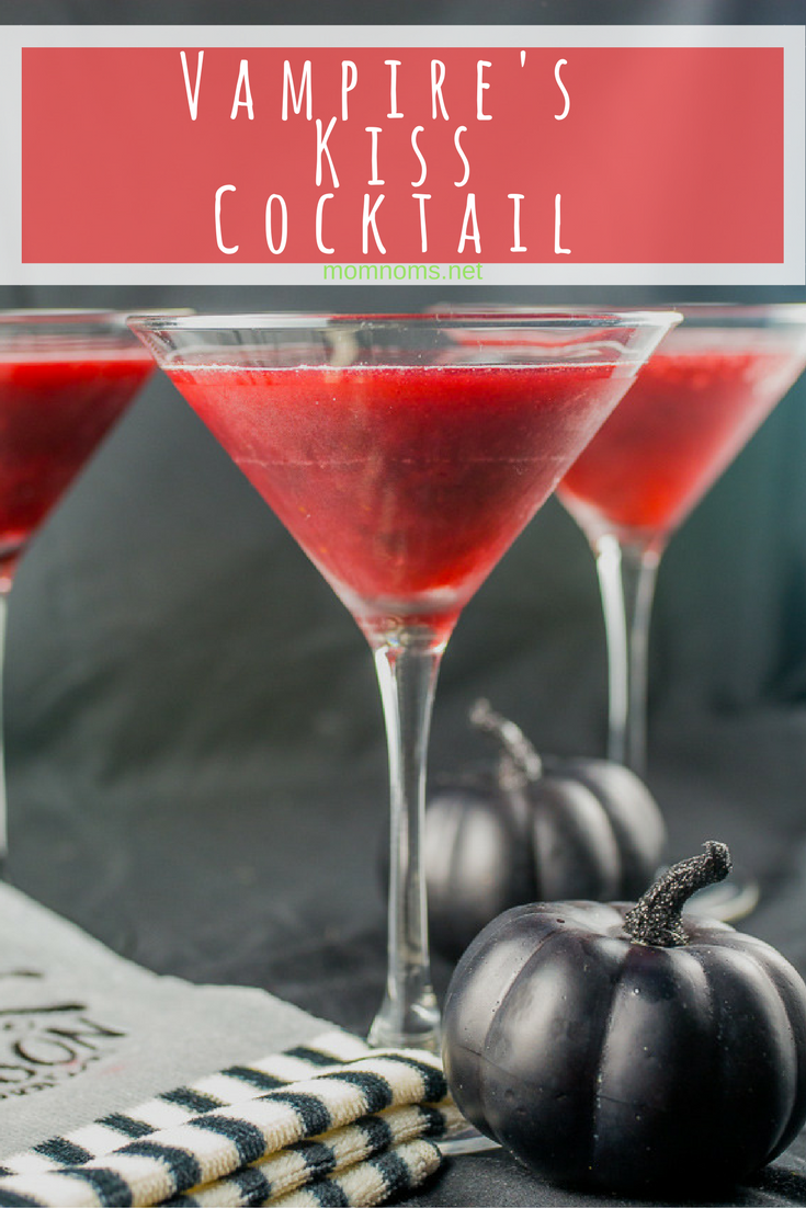 A wonderfully spooky cocktail that makes you feel as if you are a vampire taking your prey.  The blackberry flavor is perfect to make you feel like it is the season.