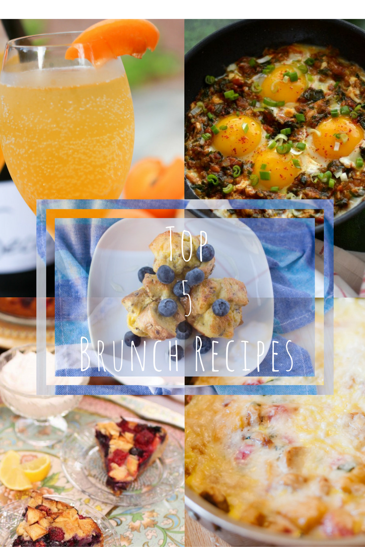There's nothing like wishing and hoping that someone will make you brunch on your worse sick day.  That's what's happened for me.  Some blogger friends and I came up with the best brunch recipes on the internet for you!  Can't wait for you to try them all!