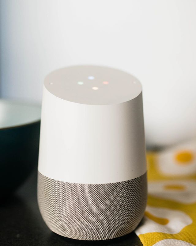 """Okay Google, what do I feed my 2 year old?"" ""Okay Google, play a lullaby!"" ""Okay Google, I need a cookie recipe!"" My Google Home is my little bit of extra help around the house, especially with B! (Not to mention giving me recipes when I need them!) Thanks @google for giving me an extra hand!  You can check out the Parenting Masterclass today at Noon PST for more parenting wins! https://www.facebook.com/FatherlyHQ/  #Ad #giftfromgoogle #google"