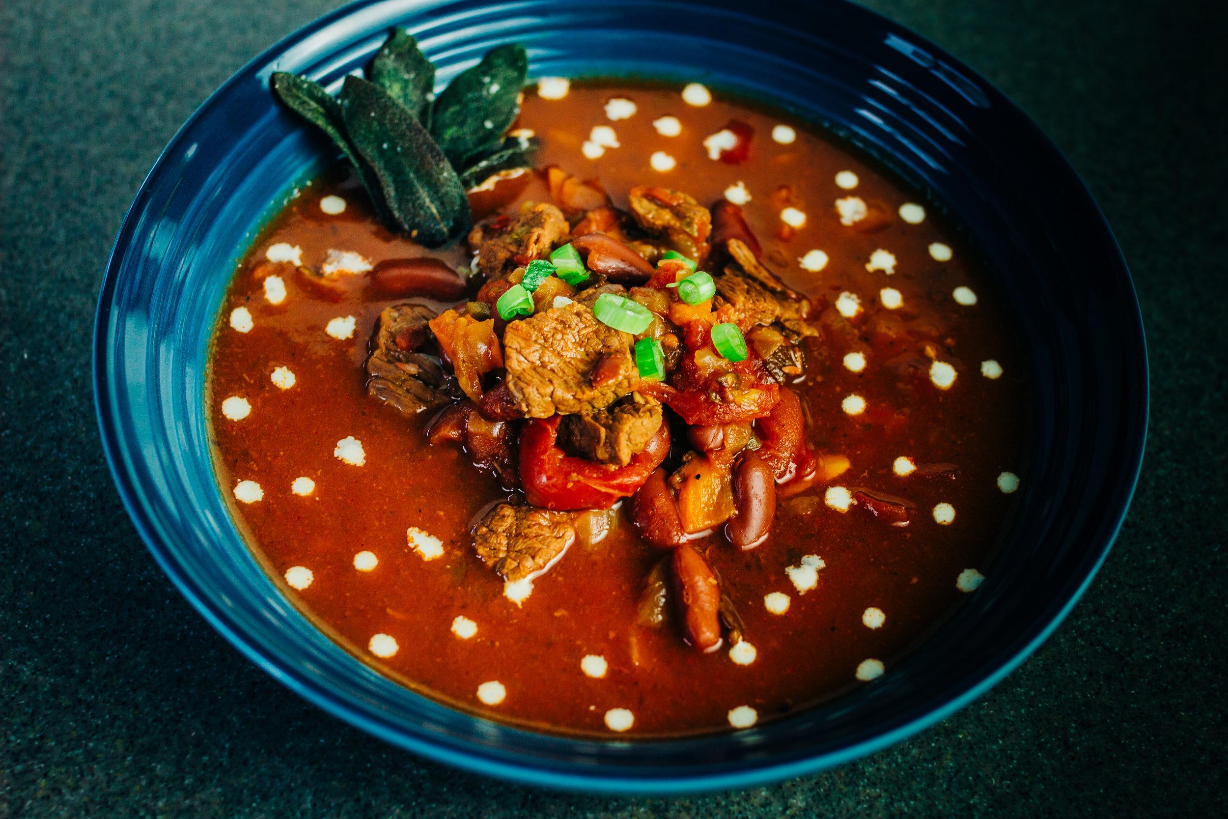 Instant Pot Brisket Chili