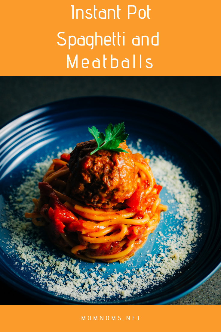 Pasta in the Instant Pot? There is great debate among everyone whether or not this is a good thing. And let me tell you friends, this is the most flavorful pasta I have ever made. From the meatballs to the sauce it is delicious!