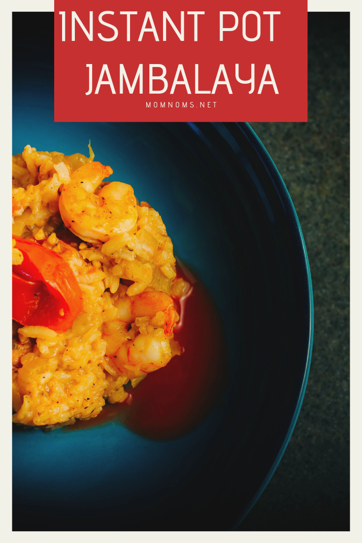 Even when I have a migraine and want to do nothing all day, I can make a simple dish like this Jambalaya in the Instant Pot!