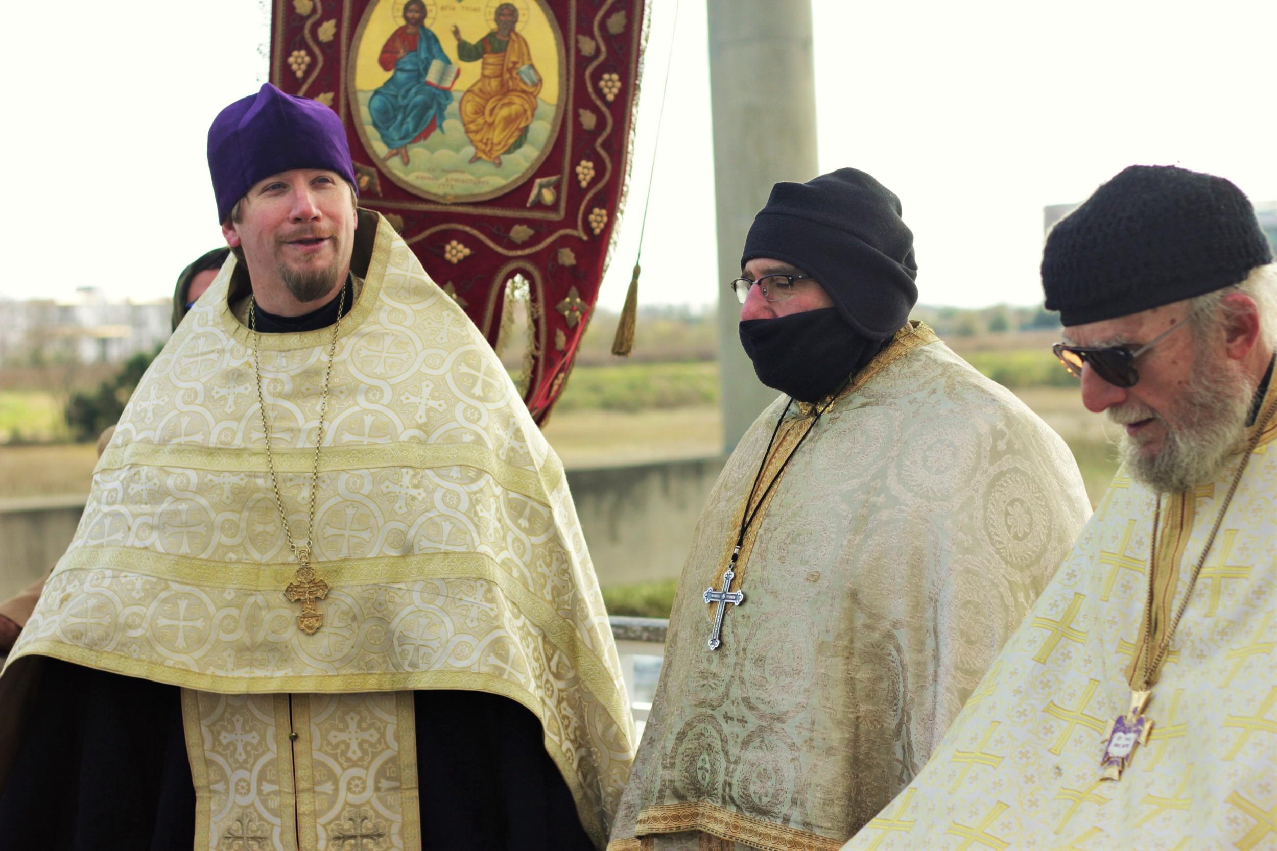 BlessWatersFrJand clergy.JPG
