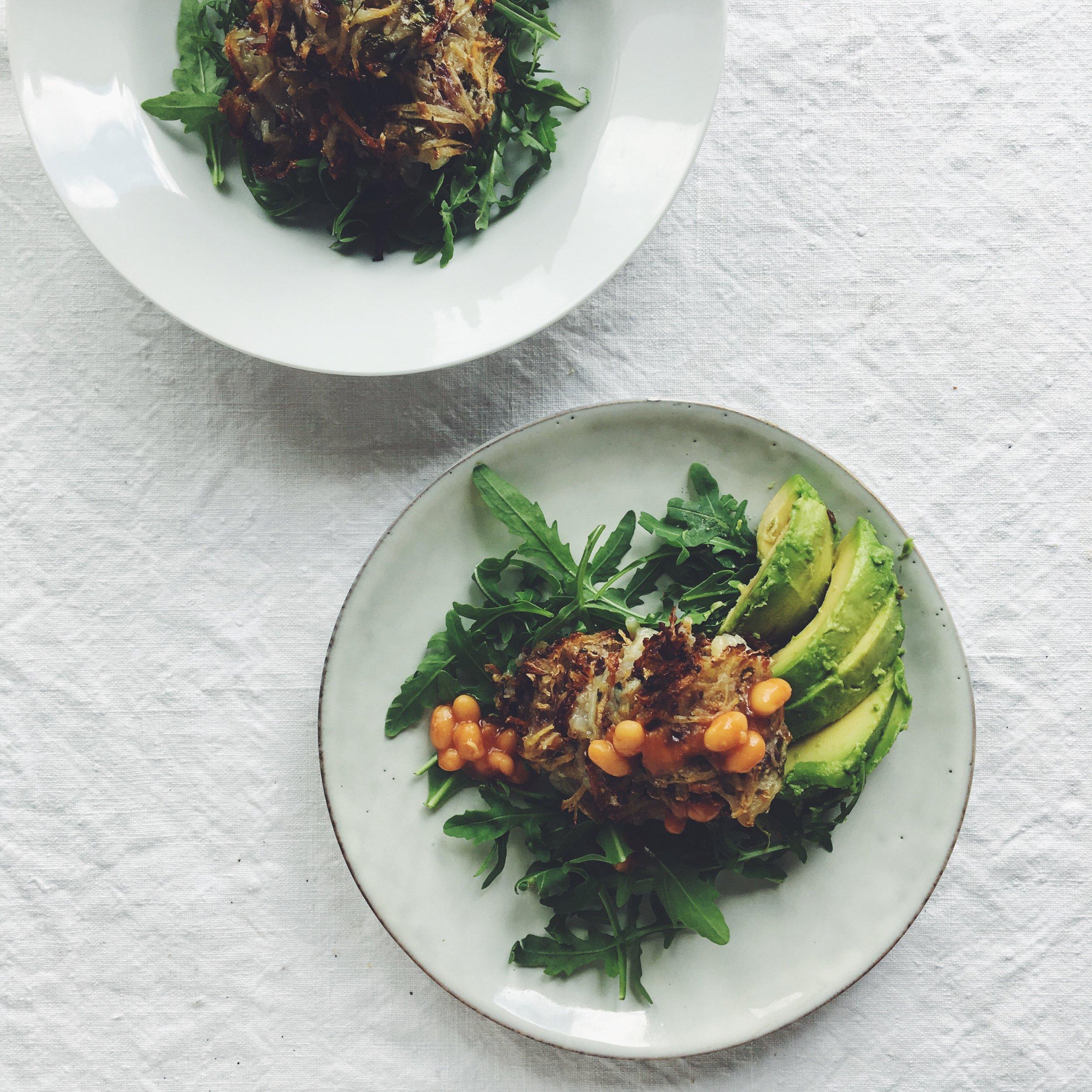 endometriosis diet vegan gluten free hash browns