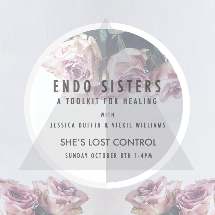 ENDO Sisters A Tool Kit for Healing with Jessica Duffin and Vickie Wiliams
