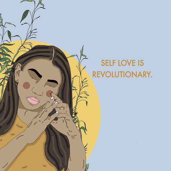 Amazing illustration by  Recipes for Self-Love