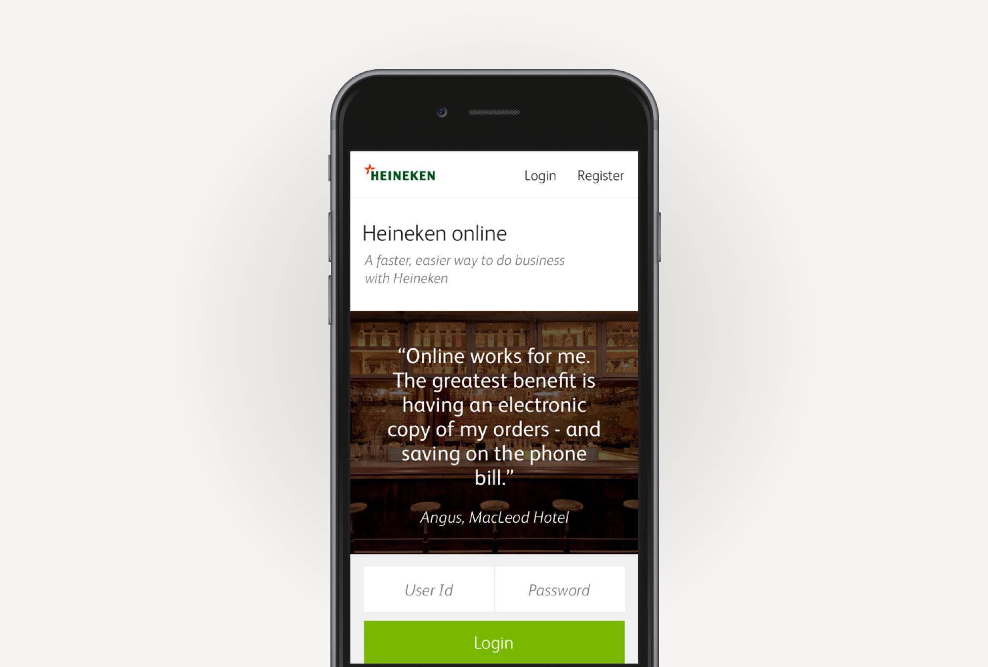 Heineken - Mobile experience strategy