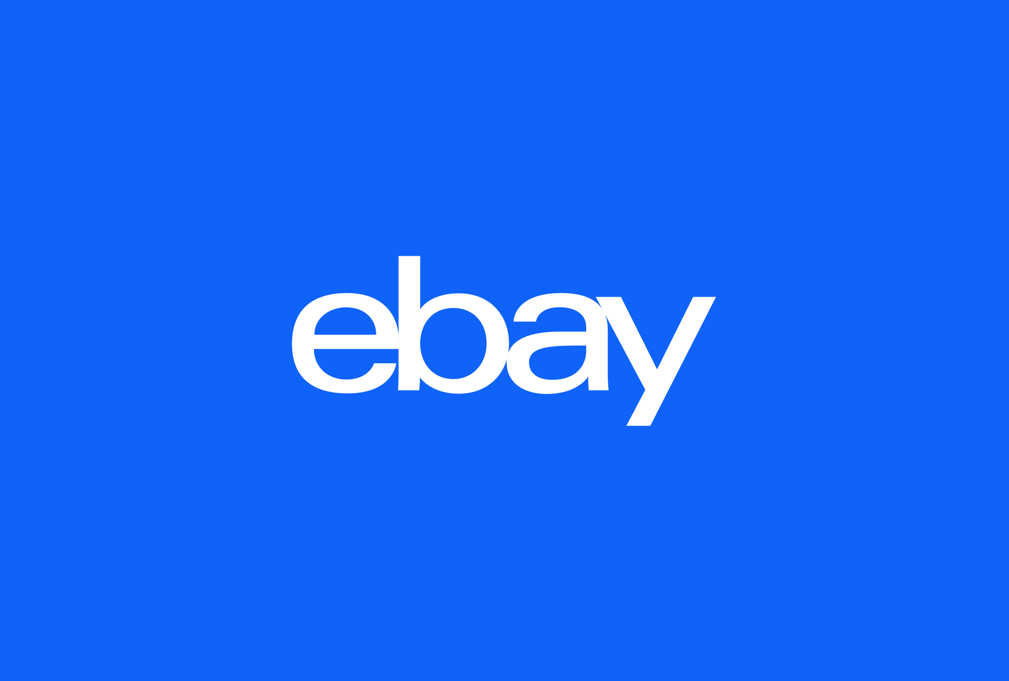 eBay - User experience design