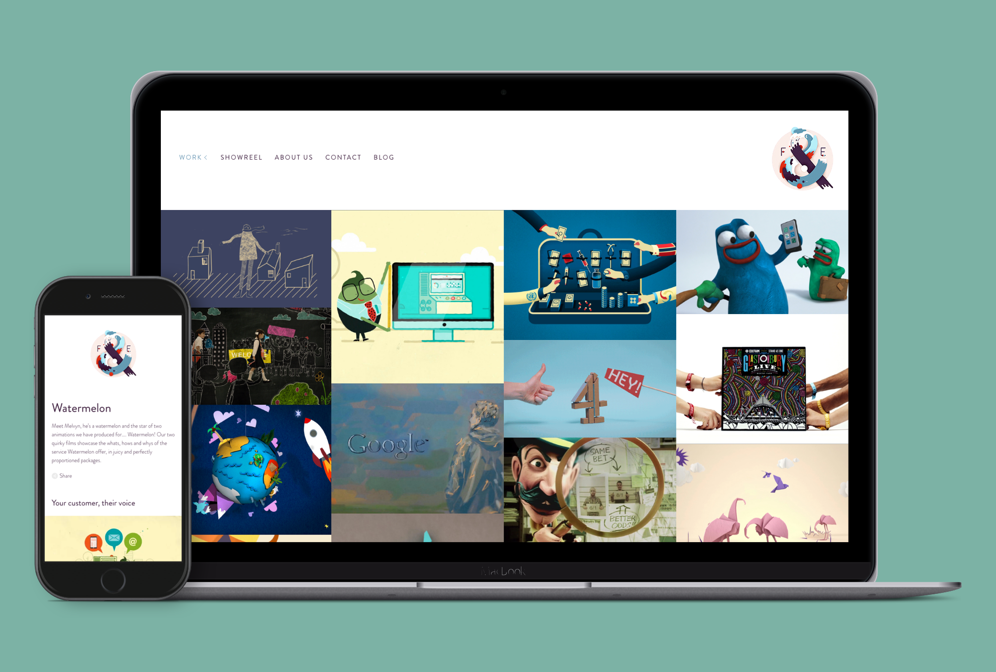 Fred & Eric - Website design and build
