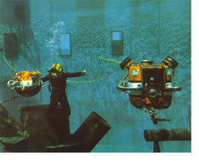 - Hydro Products RCV 225 and RCV 150, the first commercial ROVs.