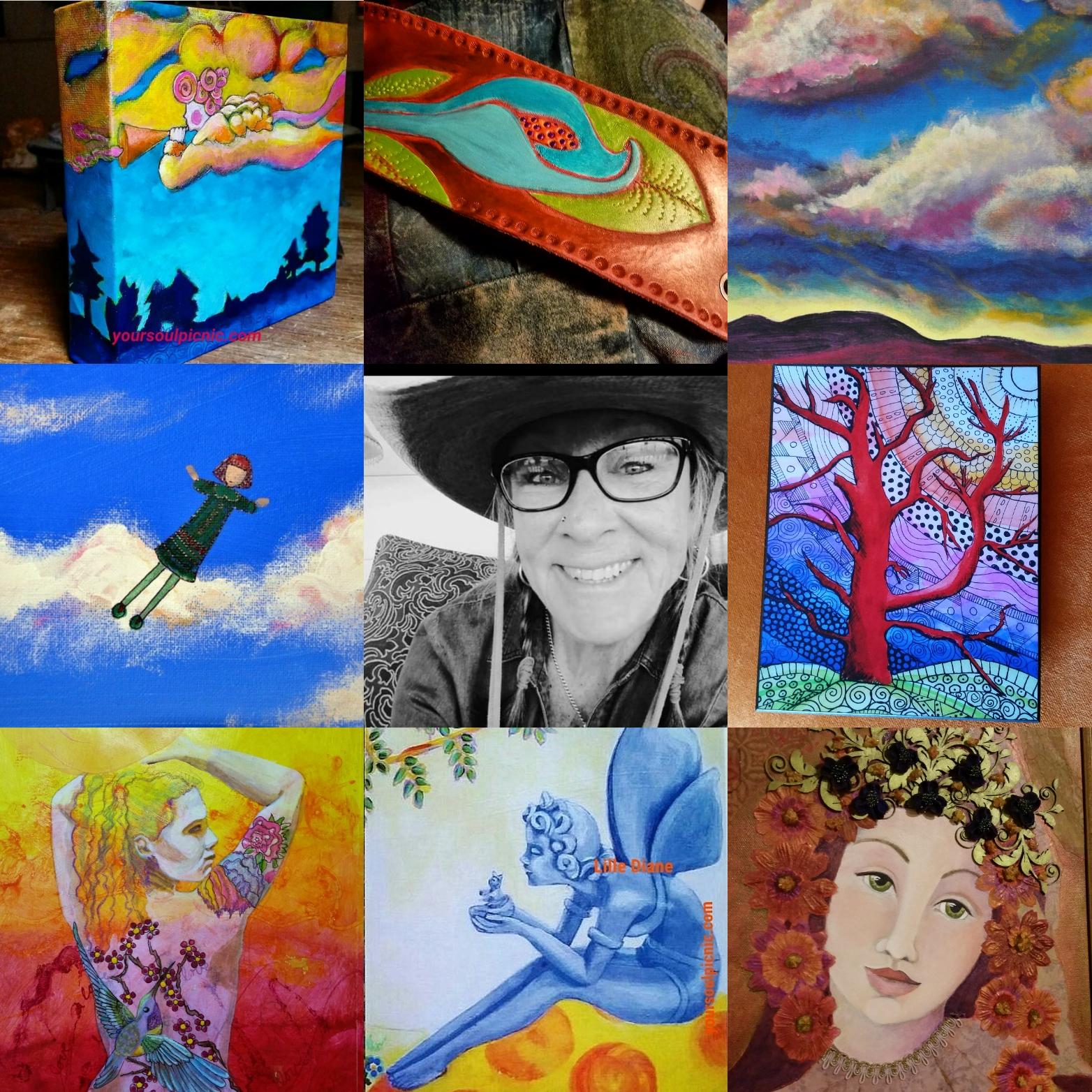 The colorful, joyful world of Lille Diane