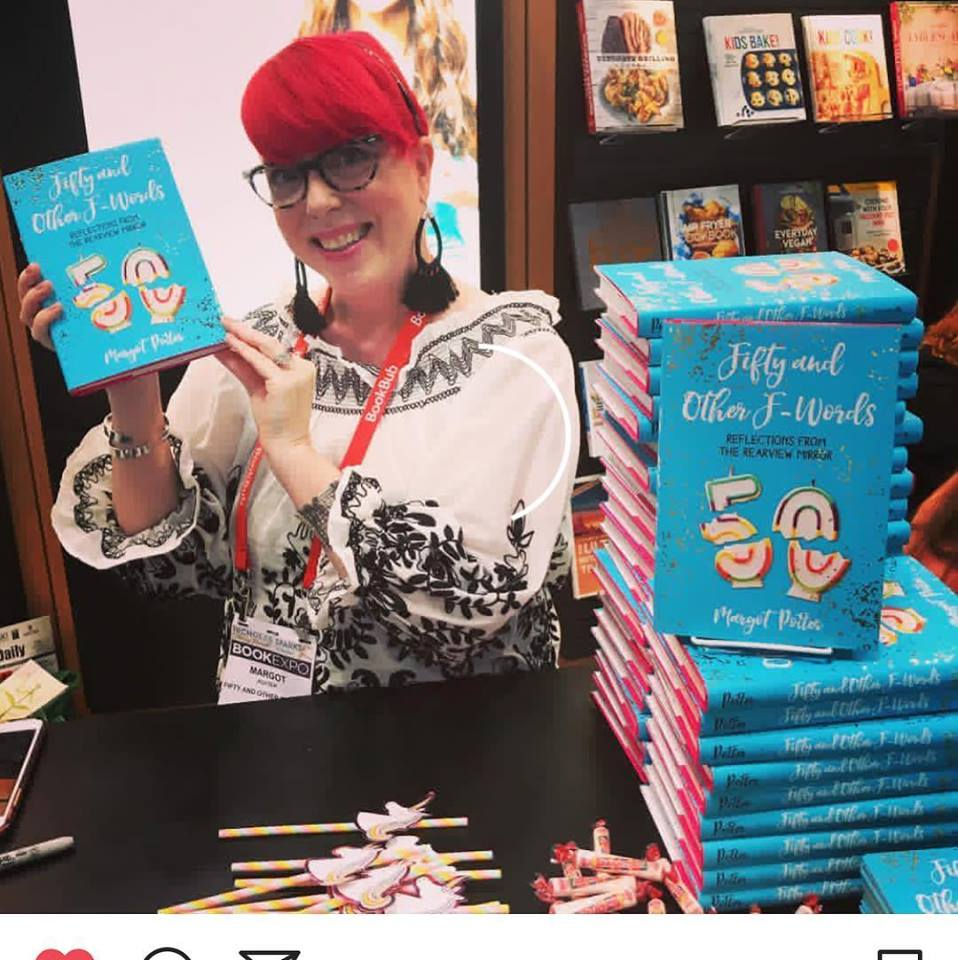 Fifty and Other F-Words book signing with Sterling Publishing BEA 2018