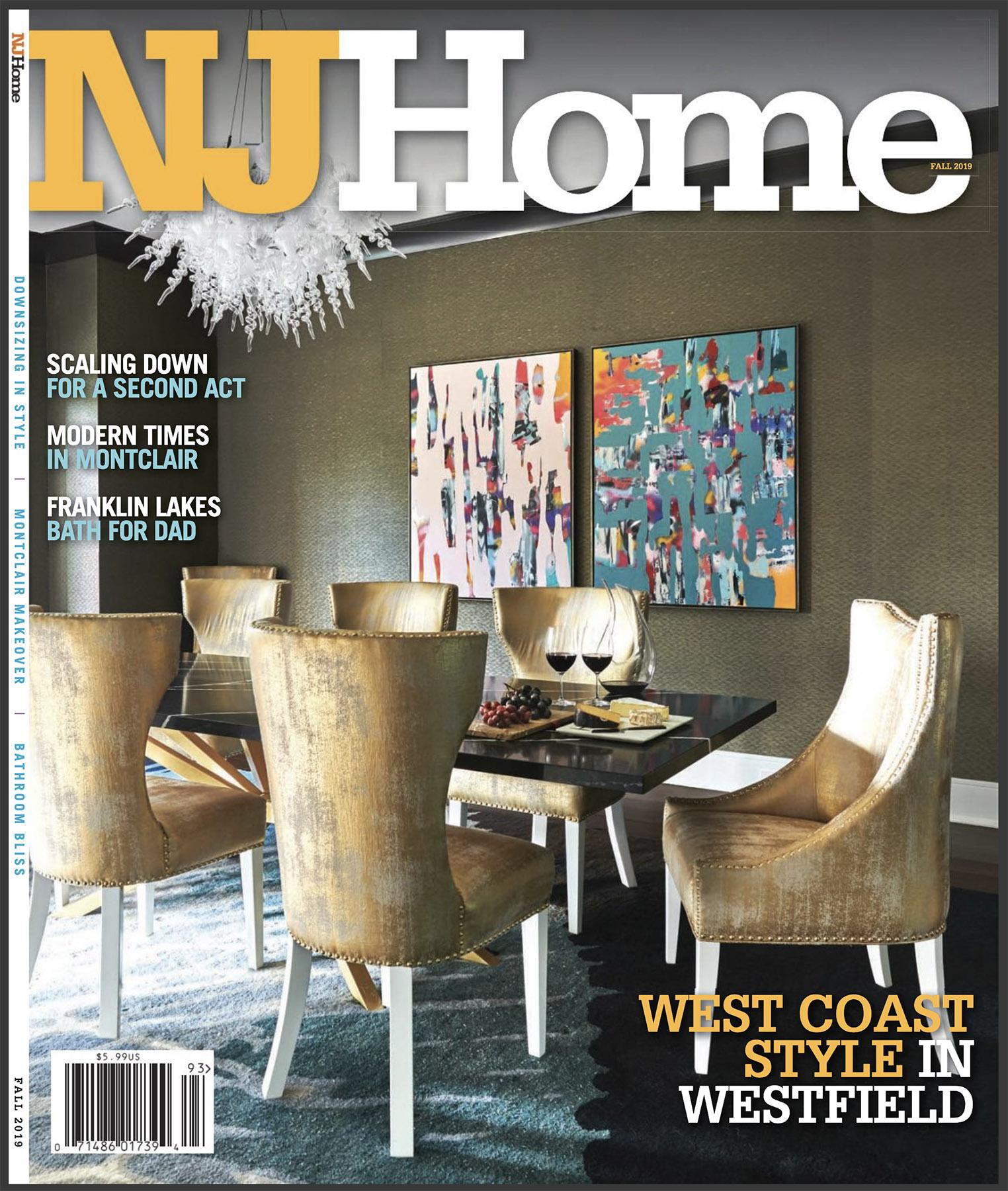 NJ Home Fall 2019 Cover