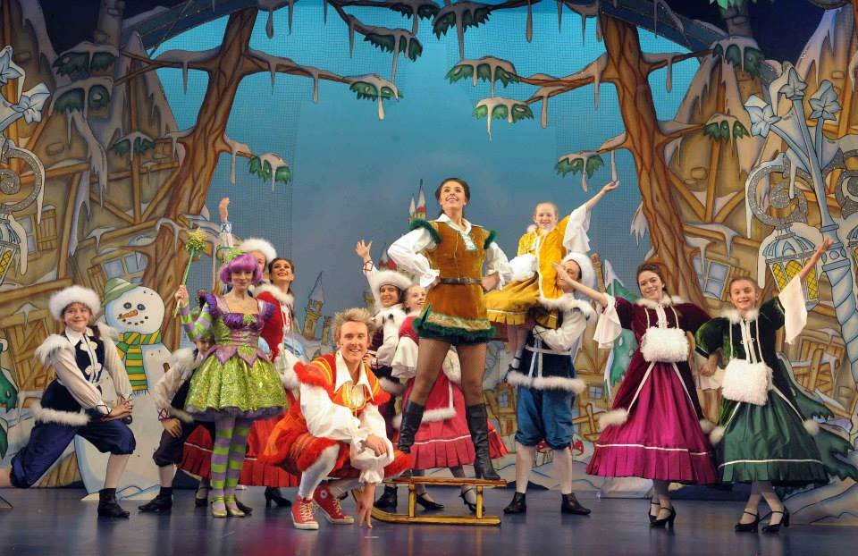 The cast of Jack and the Beanstalk, Belgrade Theatre, Coventry 2013