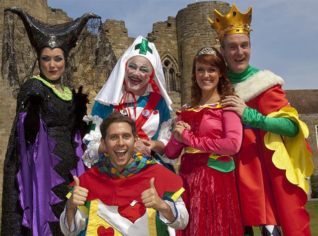 The Cast of Sleeping Beauty, The Woodville, Gravesend 2011