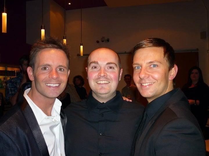 Liam (Director), Mark (Musical Director) and Eliott (Choreographer).