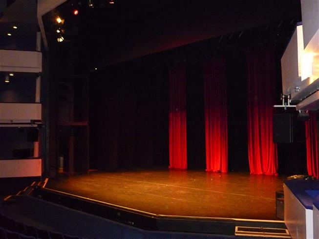 The Eden Court stage