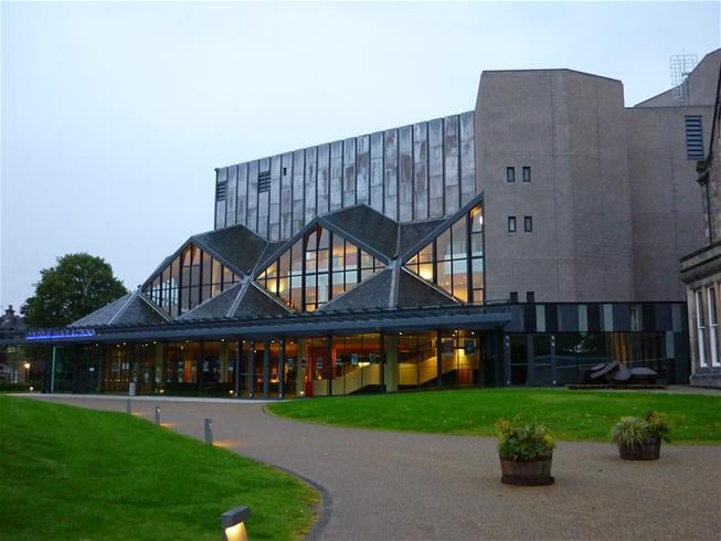 The beautiful theatre building