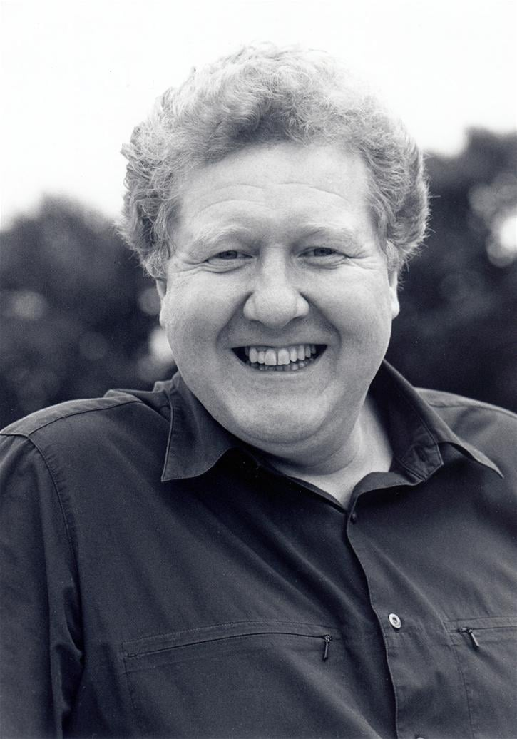 Iain Lauchlan as Director and Dame Trott