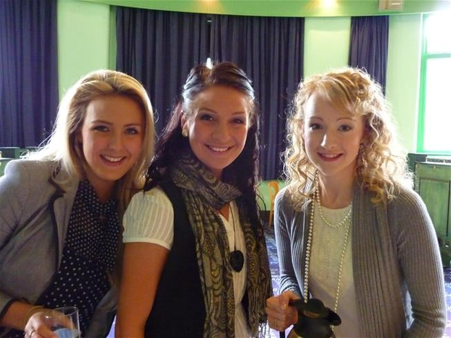 Alice, Jamie-Lee and Jennie