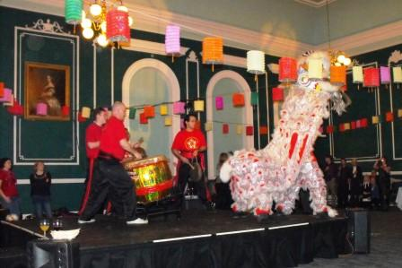 Post show entertainment - Lion Dance!