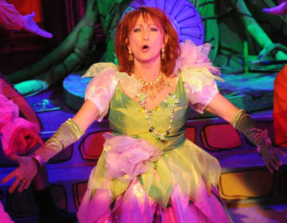 Lynne as the Fairy