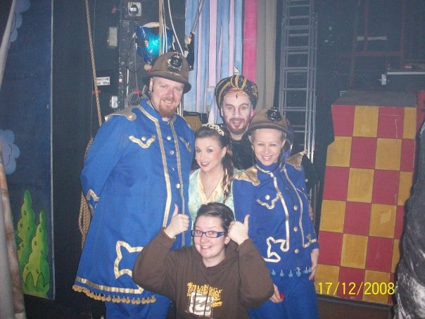 Vern, Suzie (ASM), Robyn, Chris M & Jess