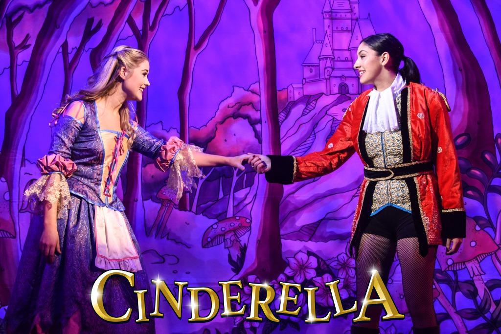 Alice Rose Fletcher as Cinderella and Bethany Brookes as Prince Charming - Credit Robert Day.jpg