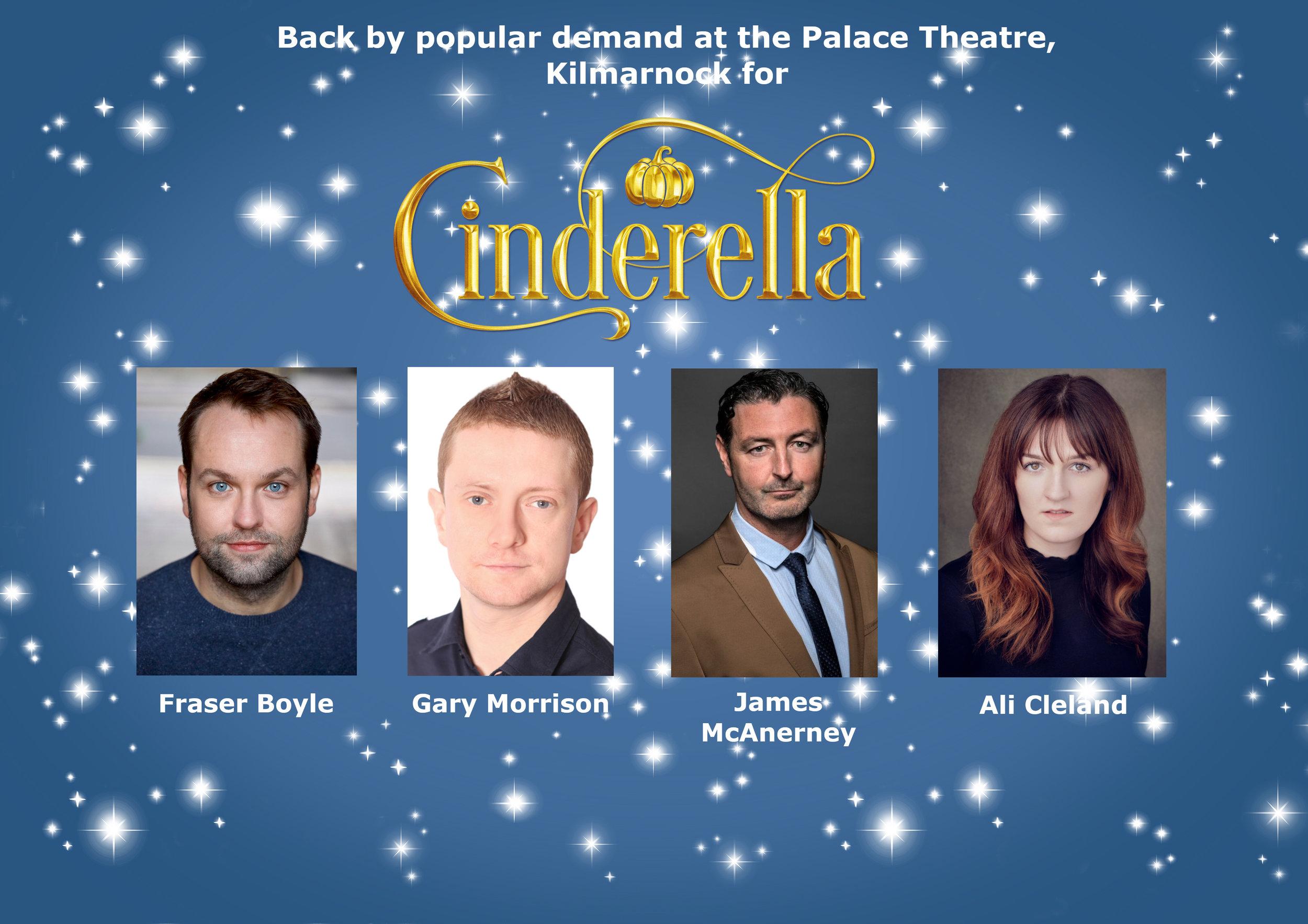 Palace Theatre Panto Stars Return for a Magical Cinderella — Imagine