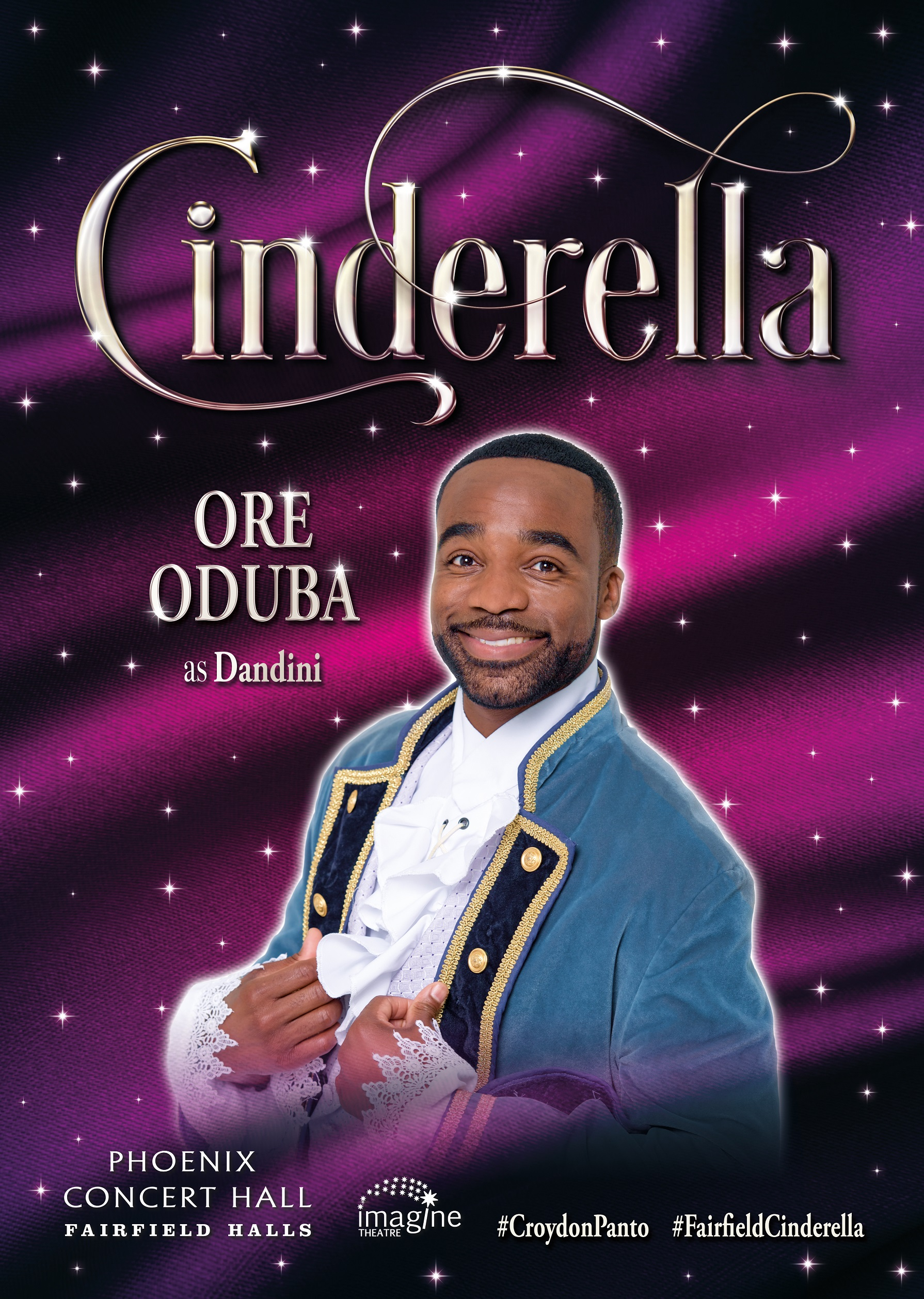 TV Star & Strictly Come Dancing Champion Ore Oduba has his invitation to the Ball in Croydon this Christmas!