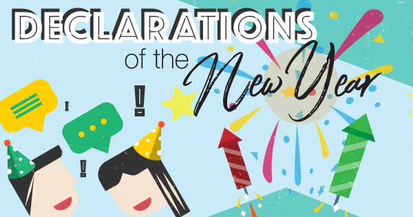 Declarations Of The New Year