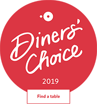 Thirsty mermaid is a winner of open table's Diners' choice award 2019