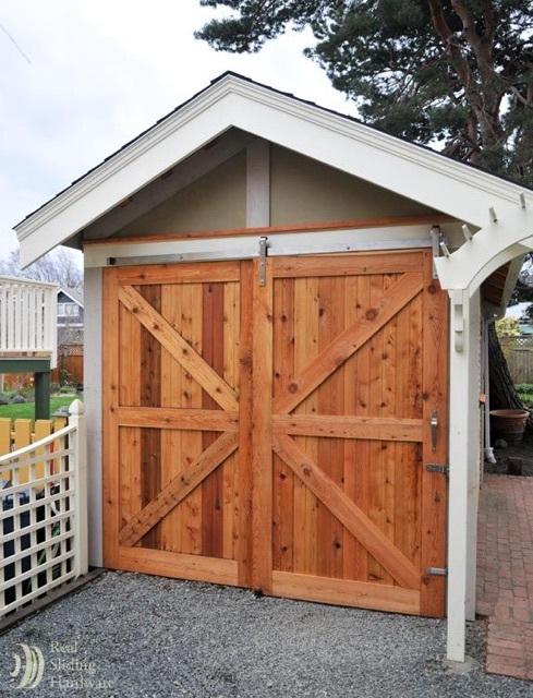 Custom barn doors.
