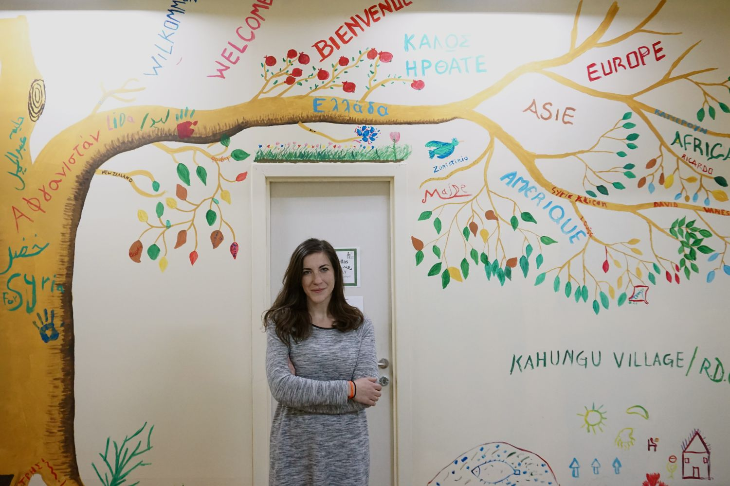 Chloe Tsernovitch, Psychosocial Support (PSS) Officer at Hestia Hellas   © Marina Tomara