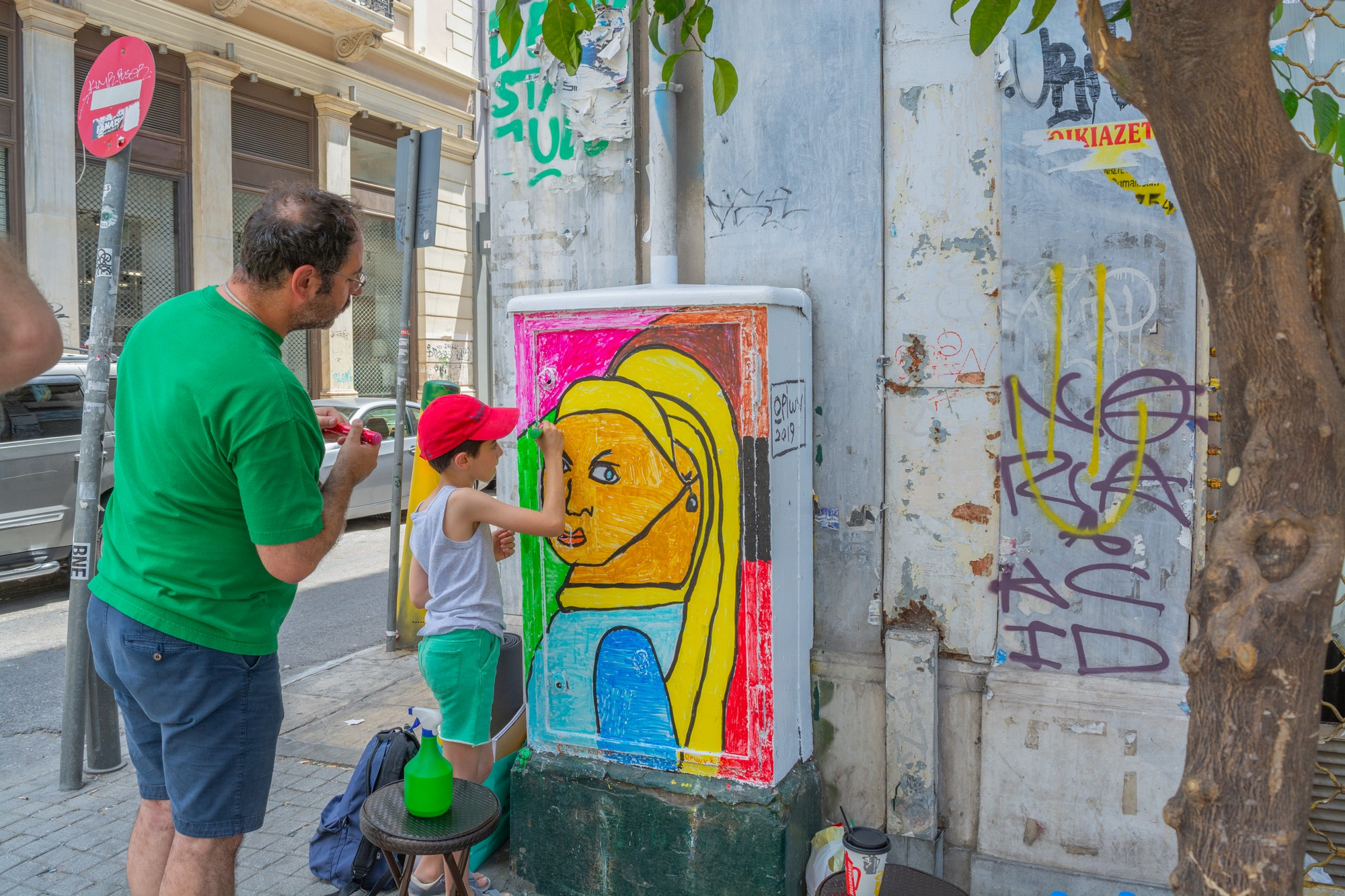 this is athens-polis - This is Athens - Polis is designed to support systematic cleaning that combats tagging, combined with a community building strategy which will lead to sustainability and change of locals' relation to the public space.