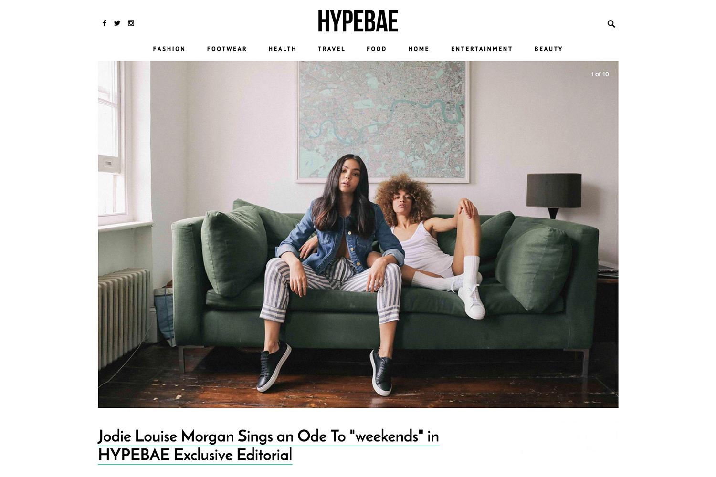'Weekends' Hypebae Exclusive Editorial