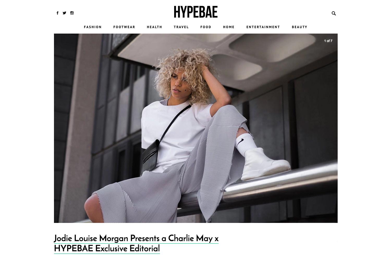 Charlie May Hypebae Exclusive