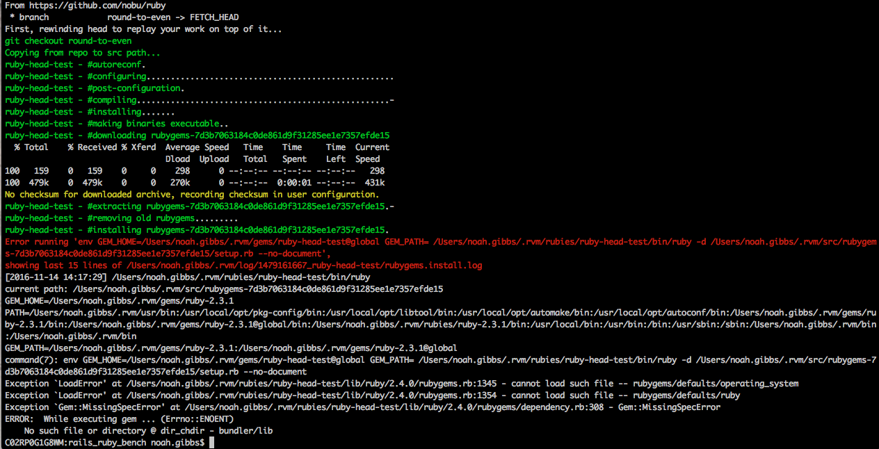 Screenshot of the problem here - see below for cut-and-pasteable output.