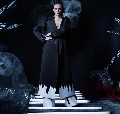 Preview! The magnificiant SuperModel and TV personality  Kira Dikhtyar Official  wearing a coat and a pair of pants from our Phenomenal Turkish designer  NU . Styled by  Jora Frantzis .  Fashion Provided By  #IvanBittonStyleHouse