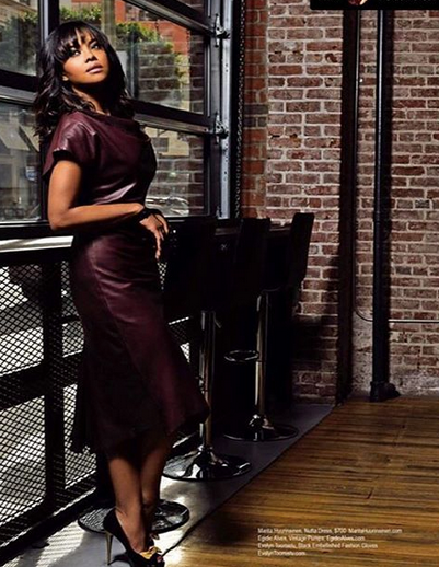 The Amazing American actress  Sharon Leal  , star of the iconic movie  Dreamgirls  looking amazing in the latest edition of  Regard Magazine  wearing our Brilliant Portuguese shoemaker  Egidio Alves  and a gorgeous dress by  Marita Huurinainen . Styled by  AmbiKa Sanjana .  Fashion Provided By  #IVanBittonStyleHouse
