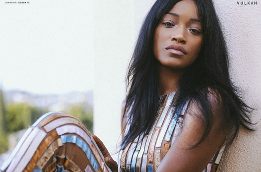 American star  Keke Palmer  now staring in Hit TV show  Scream Queens  is kiiling it in the latest edition of  Vulkan Magazine featuring our Italian shoe designer  VIC MATIE' . Styled By  Michael Saint Michael l.  Fashion Provided By  #IvanBittonStyleHouse