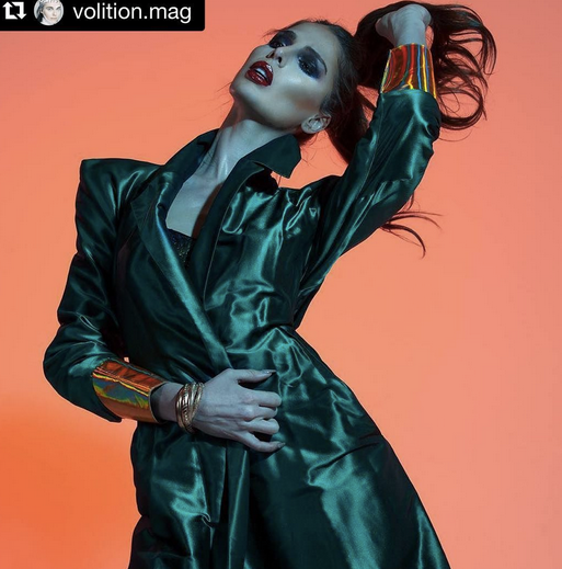 TV personality and Supermodel  Carmen Carrera  is slaying this editorial for  Volition Magazine  in our German Designer  Marcell von Berlin  styled by  Mr. Bradshaw . Fashion Provided By  #IvanBittonStyleHouse  — at  Ivan Bitton Style House .
