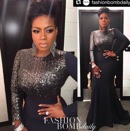 Fashion Bomb Daily 's pick is in!  Fantasia 's dress at the  Smithsonian 's museum star studded Tribute is THE BEST! Congratulations to our Designer  Marcell von Berlin !! styled by  Daniel Hawkins   Fashion Provided By  #IvanBittonStyleHouse