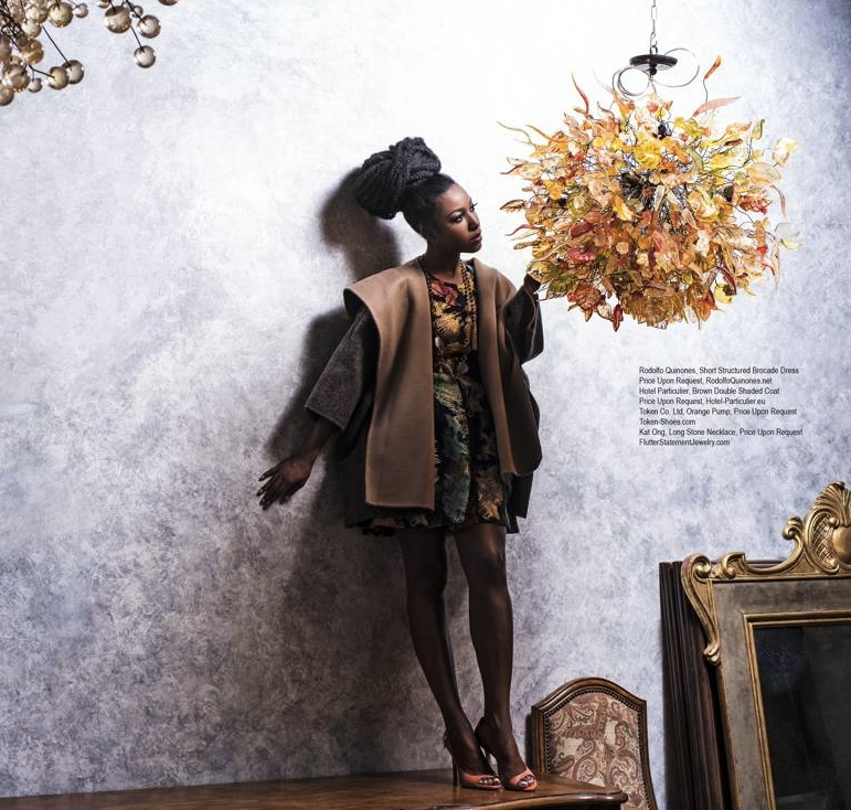 FOX 's star  Gabrielle Dennis  from Hit show  Rosewood  is slaying it in our Shoe maker from Japan @TOKEN for the latest  Regard Magazine . Styled By  #IvanBittonStyleHouse